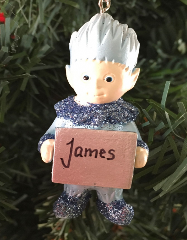 Jack Frost Personalised Tree Decoration